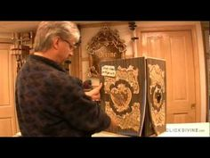 "Click Divine | Closer Look | Artistic Marquetry Cabinet | ""The Making of..."