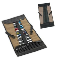 CLC 1173 Custom Leather Craft 32 Pocket Socket Tool Roll Up Pouch Organizer   Home & Garden, Tools, Tool Boxes, Belts & Storage   eBay!