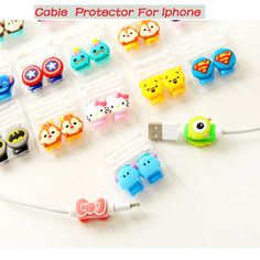 Cartoon Cute Lovely Usb Cable Protector Cable Case For Iphone 6 plus 6s 7 plus Cover Winder Cord protector organizer cable Owl -  http://mixre.com/cartoon-cute-lovely-usb-cable-protector-cable-case-for-iphone-6-plus-6s-7-plus-cover-winder-cord-protector-organizer-cable-owl/  #MobilePhoneCables