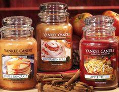 Fall Scents. Maple Pancakes. Cinnamon Roll. Apple Pie