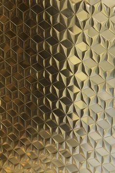 Wall Panel Design, 3d Wall Panels, Art Deco Wallpaper, Pattern Wallpaper, Wedding Stage Design, Brass Texture, Logo Background, Unique Tile, Shades Of Gold