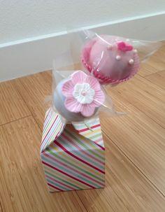 Cake pops for a bridal shower