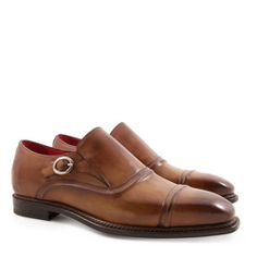 Leonardo Shoes – SIENNA Mod. 5208 (Men's monkstrap loafers Handmade in genuine leather)