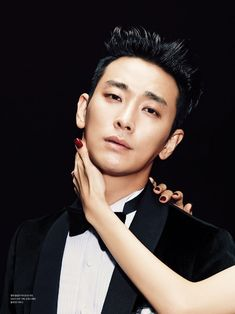Joo Ji Hoon - L'Officiel Hommes Magazine December Issue '13