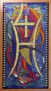 Pisces by Sir George Trevelyan: Attingham Park, The Attingham Zodiac Astrology Pisces, Virgo Horoscope, Astrology Chart, Astrology Zodiac, Astrology Signs, Zodiac Signs, Pisces Personality, Zodiac Art, Mosaic Crafts