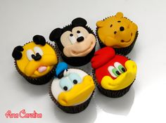 30 Magical Disney Cupcakes