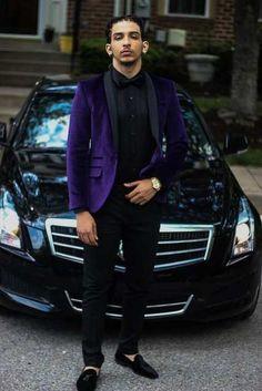 Online Shop 2017 Latest Coat Pant Designs Purple Velvet Men Prom Suit Slim Fit 2 Piece Tuxedo Custom Groom Suits Fashion Blazer Masculino D7   Aliexpress Mobile