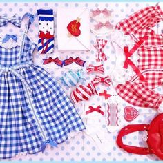 Picnic gingham from