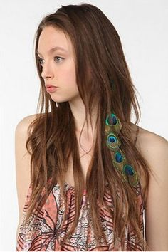 Latest Craze, Feather Hair Extensions