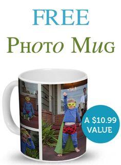 FREE Photo Mug Sale