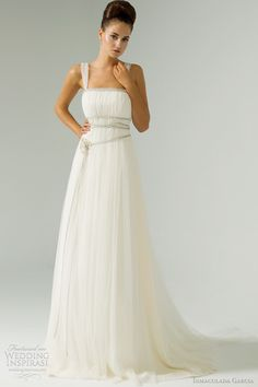 inmaculada garcia wedding dress 2012 bridal collection hersilia gown