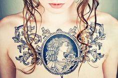 Fantastic chest piece. #tattoo #tattoos #ink
