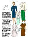 Here is Mother- 1 pg paper doll