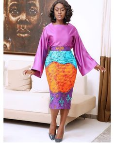 Nigerian Lace Styles, Ankara Long Gown Styles, Short African Dresses, African Print Skirt, African Print Dresses, African Prints, African Traditional Dresses, Traditional Outfits, Simple Outfits