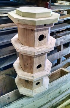 Tower birdhouse