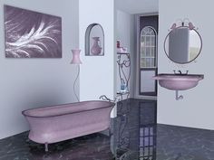 Elizabeth Bathroom by Flovv - Sims 3 Downloads CC Caboodle