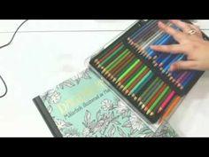 Colorindo com você - Selva Mágica da autora Johanna Basford , Editora Sextante. - YouTube