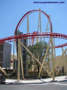 Hollywood Rip, Ride, Rockit Universal Studios Florida USA