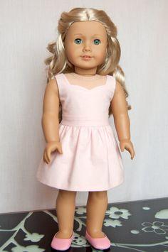Pink Dress, Woomera Dress & Washed Denim Jacket by RoyalDollBoutique on Etsy, $98.00