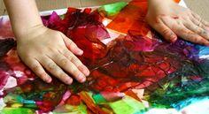 Bleeding Tissue Art~Process-based art for kids