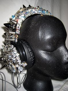 Gasoline Glamour's HP2 - HELLION HEADPHONES  HELLION HEADPHONES from their Rock Candy Collection