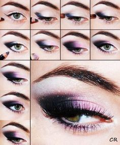 Do It Yourself Fancy Eye Makeup