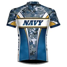 Us Navy Camo Cycling Jersey