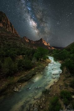The River Zion by Jon Secord | Earth Shots