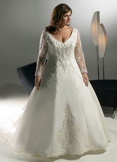 Plus Size Wedding Dresses For Fat Women (13)