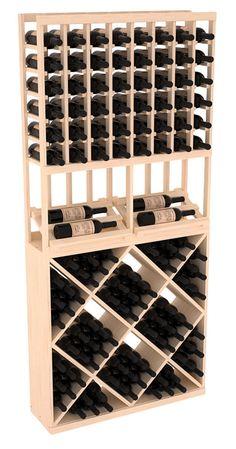 134 Bottle Side Display Wine Storage Rack Kit Combo 1 in Pin.- 134 Bottle Side Display Wine Storage Rack Kit Combo 1 in Pine. 13 Stains to Choose From! 134 Bottle Side Display Wine Storage Rack Kit Combo 1 in Pine. 13 Stains to Choose From! Wine Display, Bottle Display, Wine Racks America, Bar A Vin, Wine Rack Storage, Stains, Led, Ebay, Wine Cellars