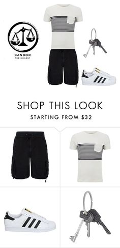 """""""Candor Summer"""" by hiltzerin-1 on Polyvore featuring Polo Ralph Lauren, SELECTED, adidas, Givenchy, men's fashion and menswear"""