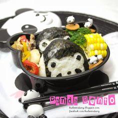 Karenwee's Bento Diary: Bento#Dec03~CasaBento Panda Lunchbox