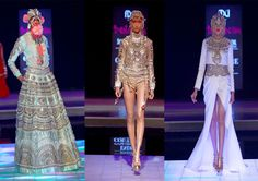 Indian by Manish Arora at Indian Couture Week.
