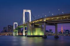 The Rainbow Bridge - Tokyo, Japan