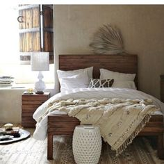 Good bed for a rustic house