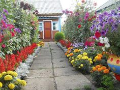 Gorgeous ideas of improving your dooryard by Dutch gardeners Garden Paths, Garden Beds, Garden Landscaping, Home And Garden, Beautiful Gardens, Beautiful Flowers, Inside Plants, Hand Flowers, Planting Vegetables