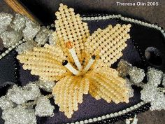 Flower diagram technique Ndebele   VIP jewelery