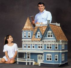 Queen Anne Dollhouse by Real Good Toys