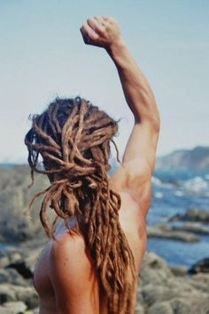i'm a sucker for a man with dreads...
