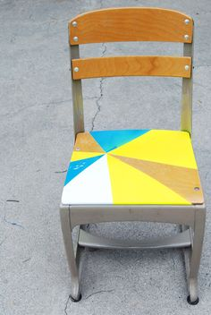 Paper Raindrops: Chair makeover DIY