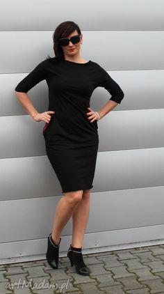 Sukienka ołówkowa dresowa kolory. $27