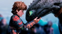 "Hiccup: "" Thanks bud. You never cease to amaze me."""