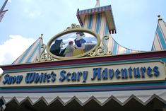 Snow White's Scary Adventures  Magic Kingdom October 1971-May 2012