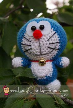 Amigurumi Doraemon Tutorial : 1000+ images about Amigurumi (stuffed crochet) on ...