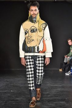Alex Mullins Autumn/Winter 2017 Menswear Collection | British Vogue