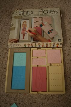 I LOVED my Fashion Plates! I remember spending hours and hours doing these!