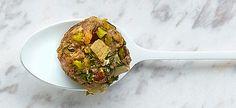 Delhaize - Lamsgehaktballetjes met pistachenoten, artisjokken en feta
