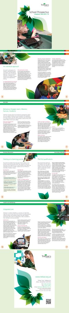 Treloar School Prospectus. Designed by www.trampolinedesign.net