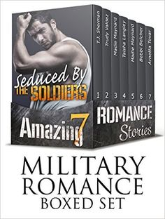 MILITARY ROMANCE BOXED SET: Seduced By The Soldiers (7 Amazing Romance Stories) (Military Contemporary New Adult Fantasy Navy Seal Romance) - Kindle edition by T.J. Sherman, Trudy Valdez, Madie Maynard, Taisha Langley, Bebbi Belcher, Arnetta Tovar. Romance Kindle eBooks @ Amazon.com.