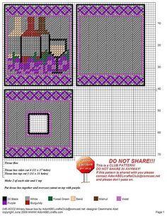 Plastic Canvas Coasters, Plastic Canvas Ornaments, Plastic Canvas Tissue Boxes, Plastic Canvas Christmas, Plastic Canvas Crafts, Plastic Canvas Patterns, Tissue Box Holder, Tissue Box Covers, Needlepoint Patterns